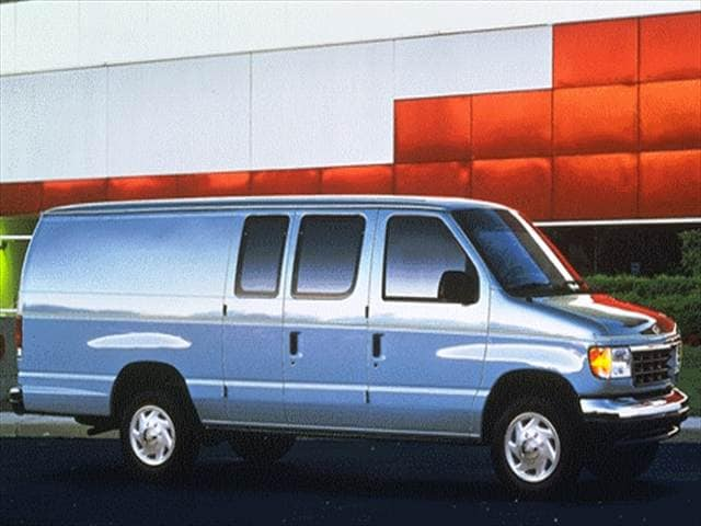 Most Popular Vans/Minivans of 1996 - 1996 Ford Econoline E350 Cargo