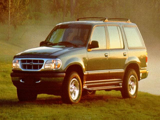 Most Popular SUVs of 1996 - 1996 Ford Explorer