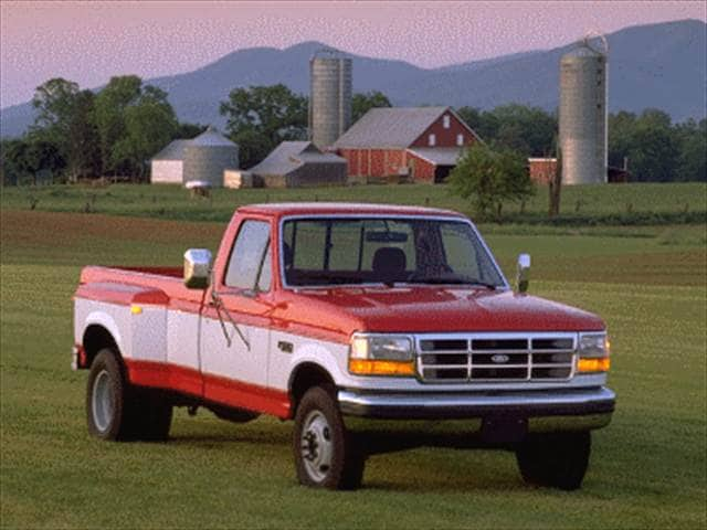Top Consumer Rated Trucks of 1996 - 1996 Ford F350 Regular Cab