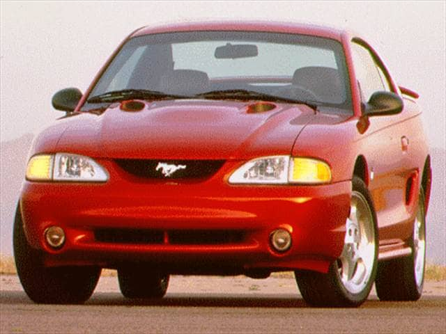 Highest Horsepower Coupes of 1996 - 1996 Ford Mustang