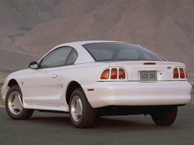 Most Popular Coupes of 1996 - 1996 Ford Mustang