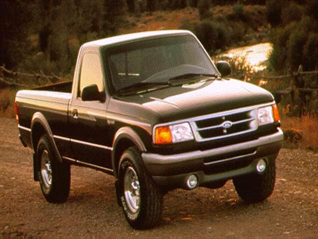 Most Fuel Efficient Trucks of 1996 - 1996 Ford Ranger Regular Cab