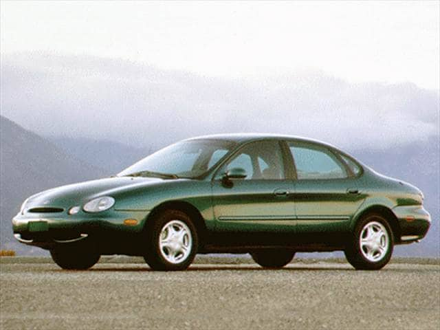Most Popular Sedans of 1996 - 1996 Ford Taurus
