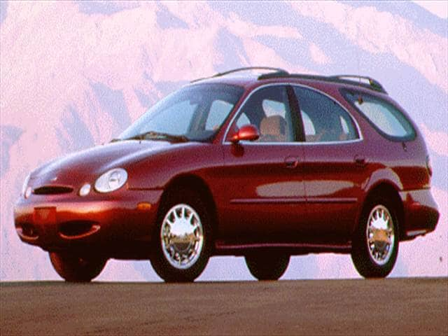 Most Popular Wagons of 1996 - 1996 Ford Taurus