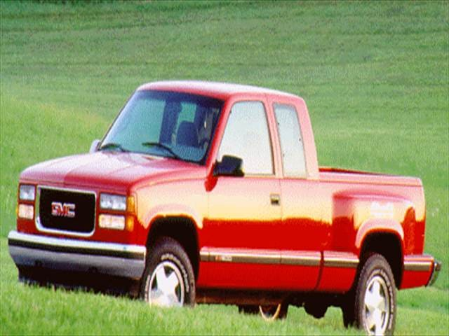 Top Consumer Rated Trucks of 1996 - 1996 GMC 1500 Club Coupe