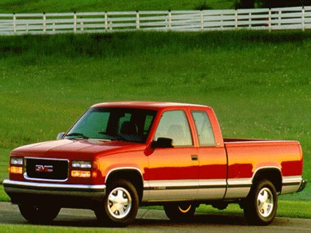 Top Consumer Rated Trucks of 1996 - 1996 GMC 2500 Club Coupe