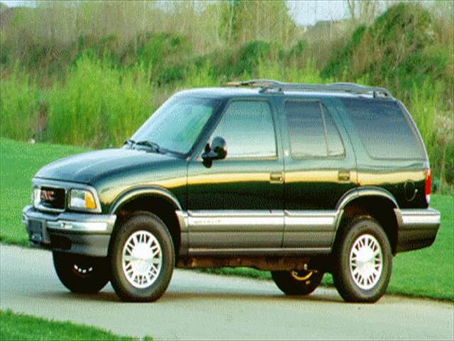 Most Popular SUVs of 1996 - 1996 GMC Jimmy
