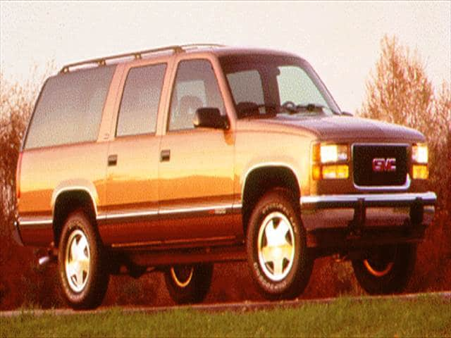 Highest Horsepower SUVs of 1996 - 1996 GMC Suburban 1500