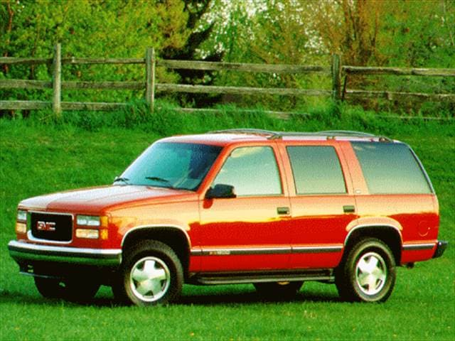 Top Consumer Rated SUVs of 1996 - 1996 GMC Yukon