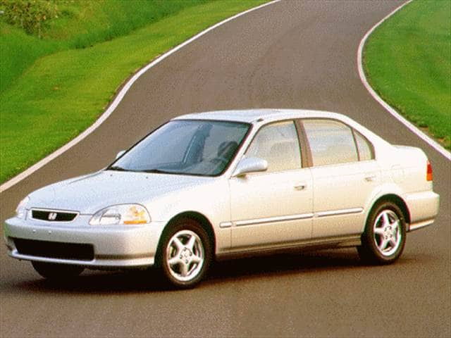 Most Fuel Efficient Sedans of 1996 - 1996 Honda Civic