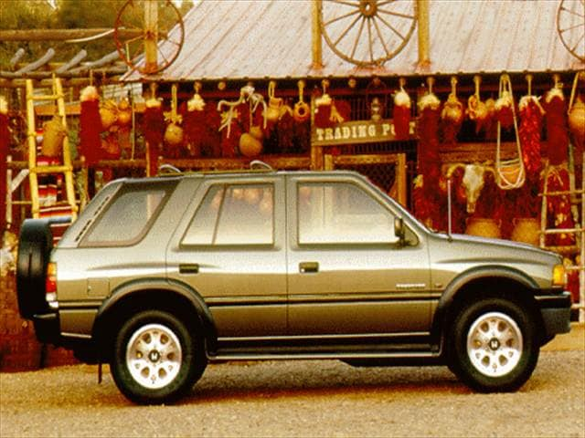 Most Fuel Efficient SUVs of 1996 - 1996 Honda Passport