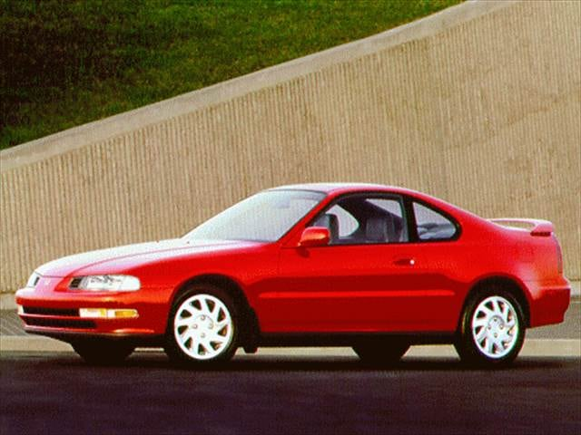 Top Consumer Rated Coupes of 1996 - 1996 Honda Prelude