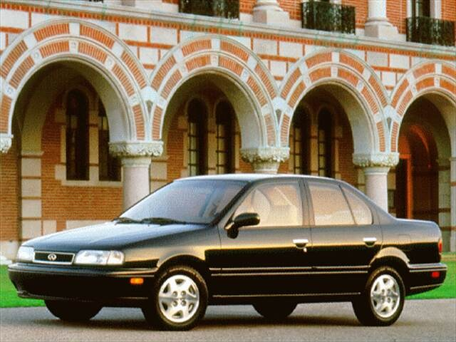 Most Fuel Efficient Luxury Vehicles of 1996 - 1996 Infiniti G