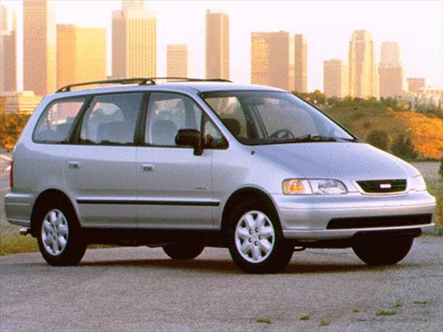 Most Fuel Efficient Vans/Minivans of 1996 - 1996 Isuzu Oasis