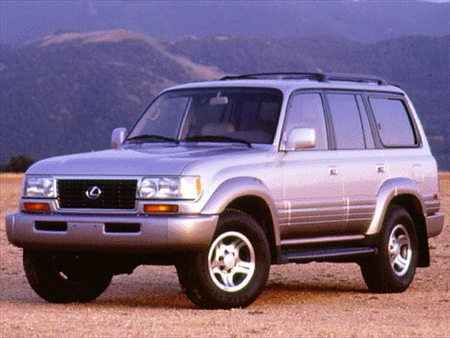 Top Consumer Rated SUVs of 1996 - 1996 Lexus LX