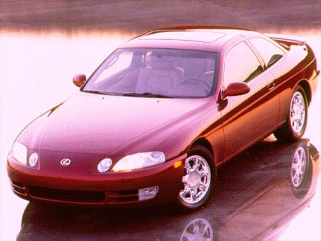 Top Consumer Rated Coupes of 1996 - 1996 Lexus SC