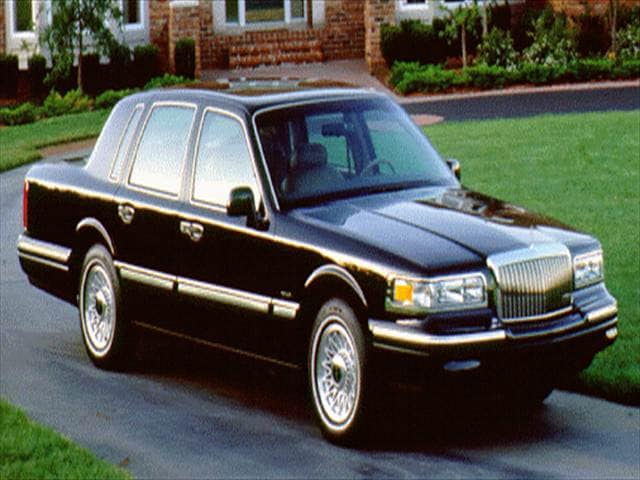 Most Popular Luxury Vehicles of 1996 - 1996 Lincoln Town Car