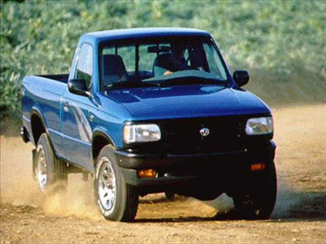 Most Fuel Efficient Trucks of 1996 - 1996 Mazda B-Series Regular Cab
