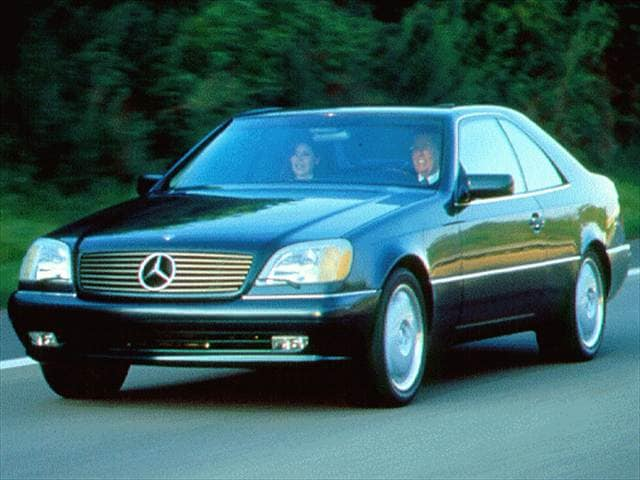 Highest Horsepower Coupes of 1996 - 1996 Mercedes-Benz S-Class