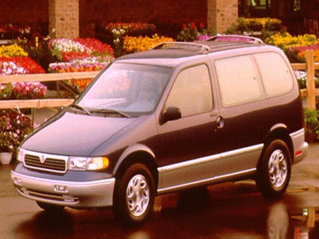 Top Consumer Rated Vans/Minivans of 1996 - 1996 Mercury Villager