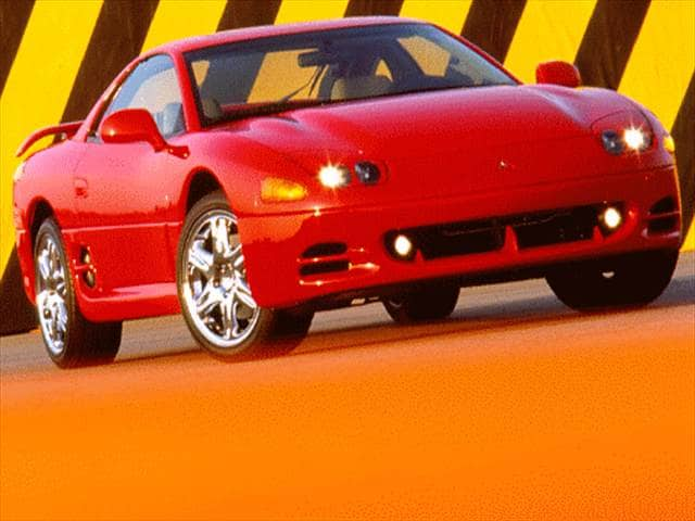 Highest Horsepower Coupes of 1996 - 1996 Mitsubishi 3000GT