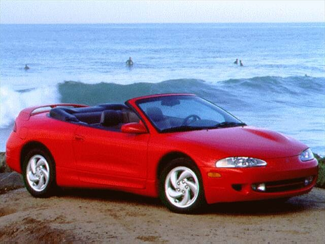 Most Fuel Efficient Convertibles of 1996 - 1996 Mitsubishi Eclipse