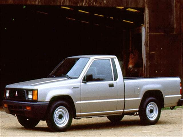 mitsubishi pickup models | kelley blue book