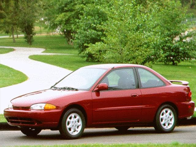 Most Fuel Efficient Coupes of 1996 - 1996 Mitsubishi Mirage