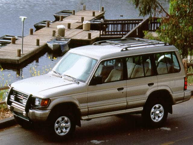 Top Consumer Rated SUVs of 1996 - 1996 Mitsubishi Montero