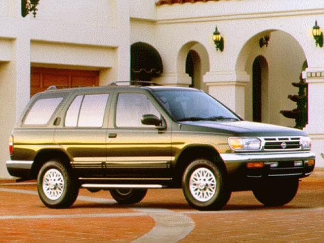 Top Consumer Rated SUVs of 1996 - 1996 Nissan Pathfinder