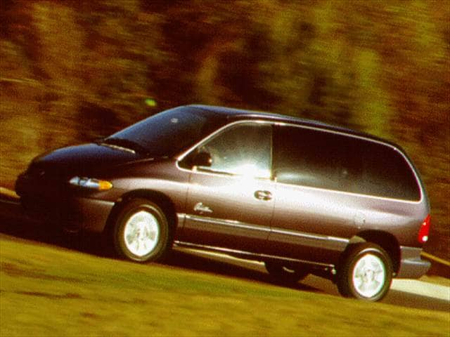 Most Fuel Efficient Vans/Minivans of 1996 - 1996 Plymouth Voyager