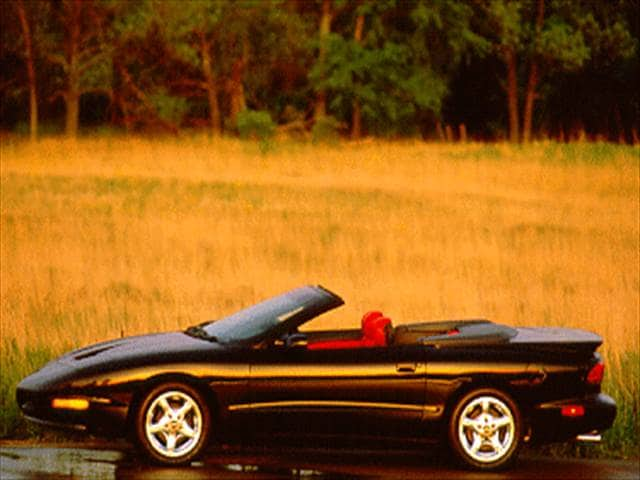 Highest Horsepower Convertibles of 1996 - 1996 Pontiac Firebird