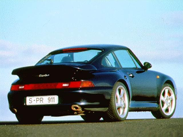 Highest Horsepower Coupes of 1996 - 1996 Porsche 911