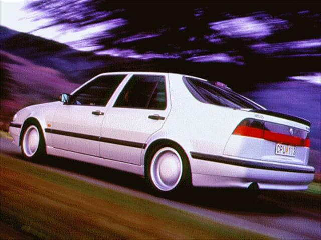 Highest Horsepower Hatchbacks of 1996 - 1996 Saab 9000