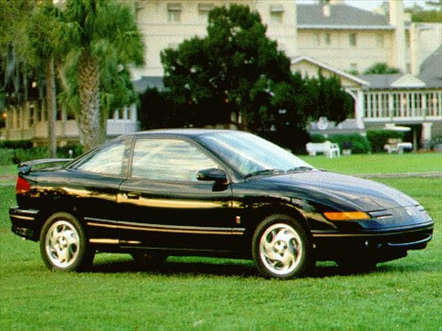 Most Popular Coupes of 1996 - 1996 Saturn S-Series