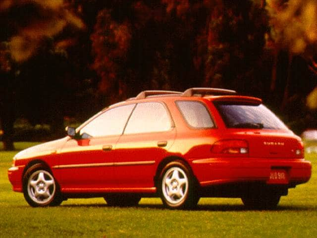 Top Consumer Rated Wagons of 1996 - 1996 Subaru Impreza