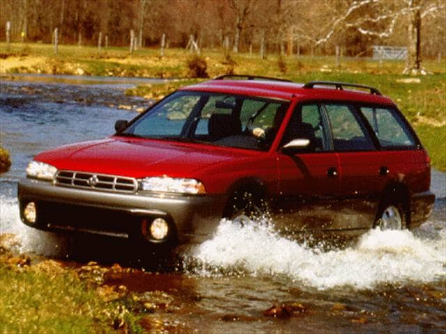 Most Fuel Efficient Wagons of 1996 - 1996 Subaru Legacy