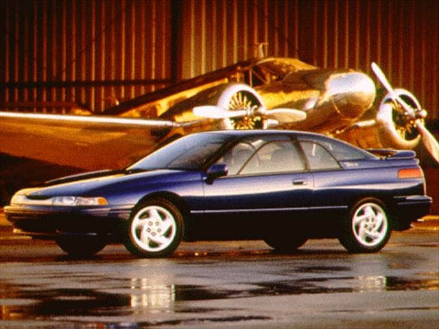 Top Consumer Rated Coupes of 1996 - 1996 Subaru SVX