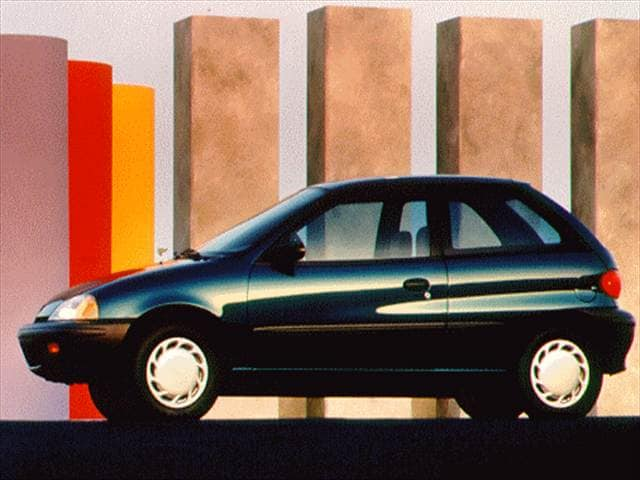 Most Fuel Efficient Hatchbacks of 1996 - 1996 Suzuki Swift