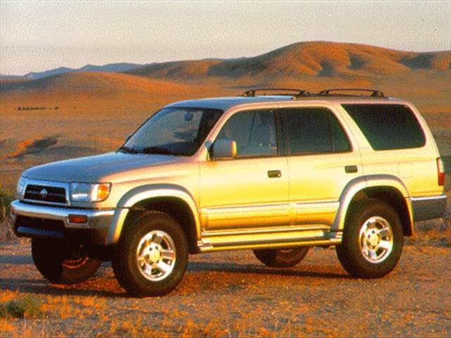 Most Fuel Efficient SUVs of 1996 - 1996 Toyota 4Runner