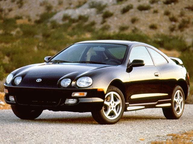 Top Consumer Rated Hatchbacks of 1996 - 1996 Toyota Celica