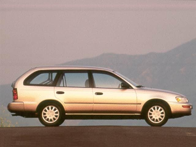 Most Popular Wagons of 1996 - 1996 Toyota Corolla
