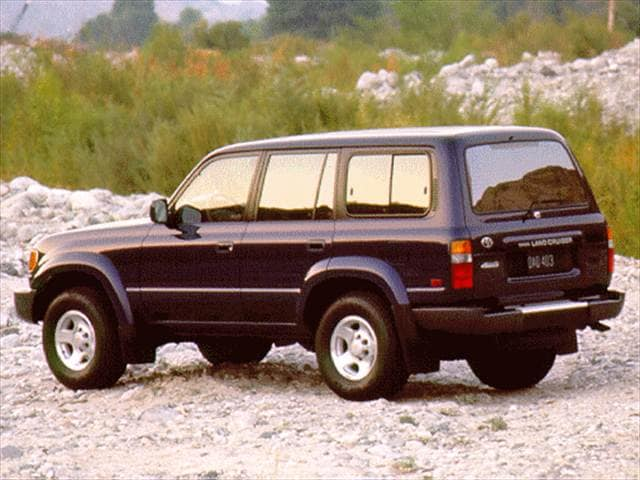 Top Consumer Rated SUVs of 1996 - 1996 Toyota Land Cruiser