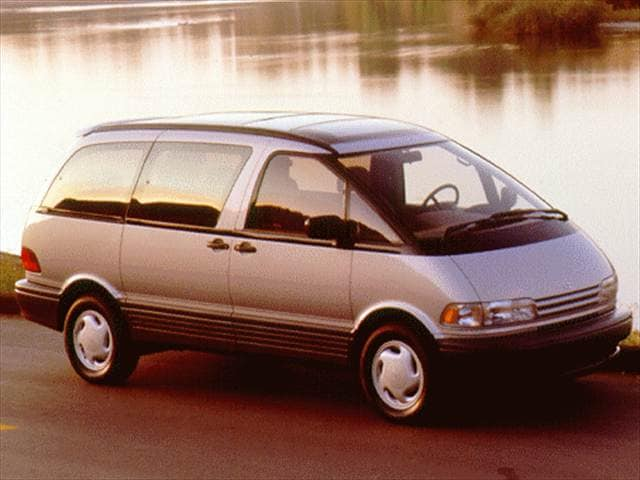 Top Consumer Rated Vans/Minivans of 1996 - 1996 Toyota Previa