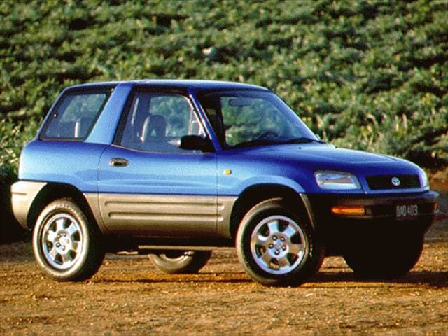 Top Consumer Rated SUVs of 1996 - 1996 Toyota RAV4