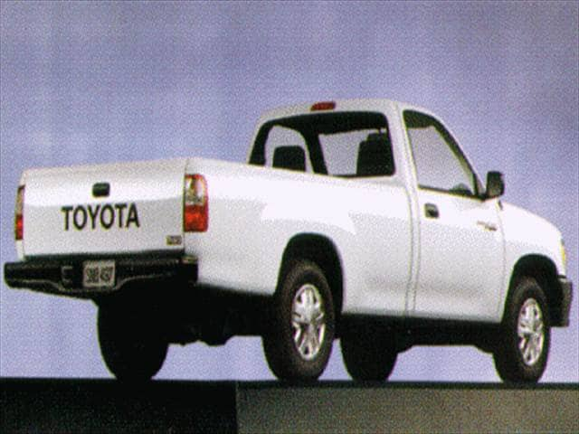 Top Consumer Rated Trucks of 1996 - 1996 Toyota T100 Regular Cab