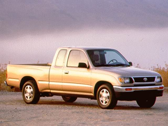 Most Popular Trucks of 1996 - 1996 Toyota Tacoma Xtracab