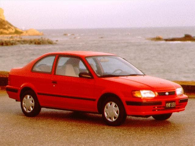 Most Fuel Efficient Coupes of 1996 - 1996 Toyota Tercel