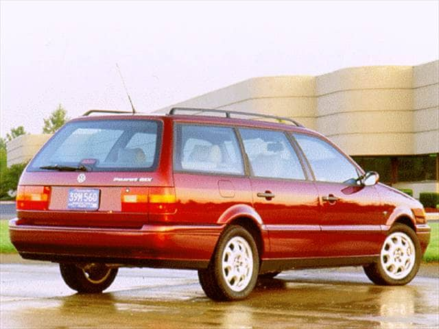 Most Fuel Efficient Wagons of 1996 - 1996 Volkswagen Passat