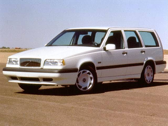 Most Popular Wagons of 1996 - 1996 Volvo 850